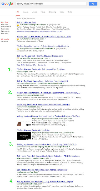 Carrot sites show up in a lot of popular google search results