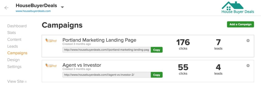 OnCarrot's Campaign Tracking Links
