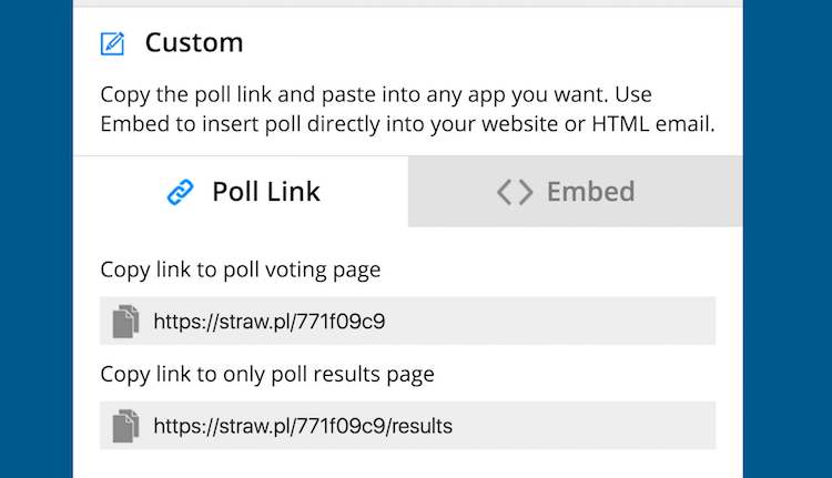 embed-your-poll