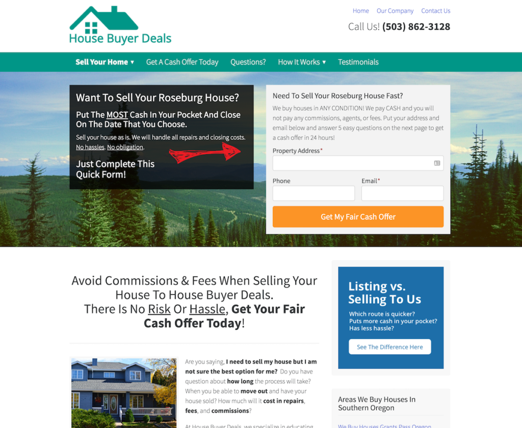 My Investor Carrot website