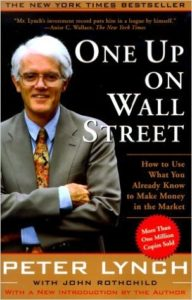 One Up On Wall Street Book Cover
