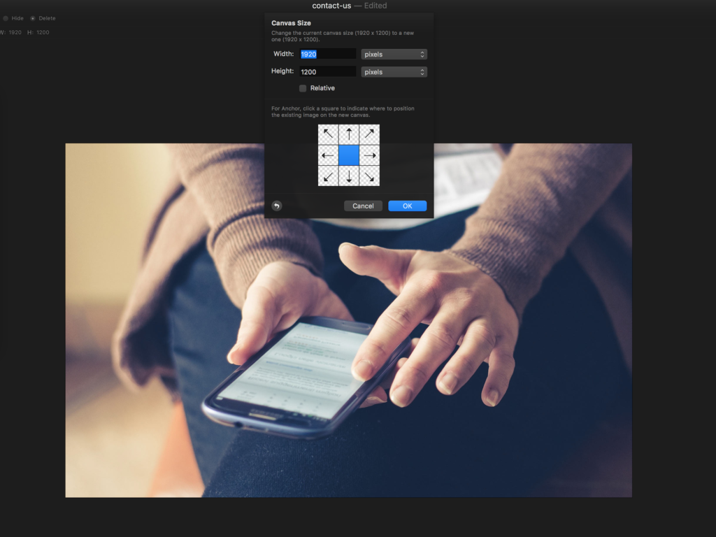 How to resize your images for a WordPress blog