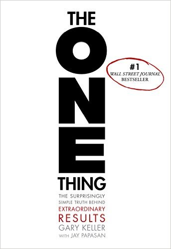 The One Thing Book Cover